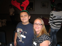 Local Big & Little having fun at Big Brothers Big Sisters holiday party in St. Augustine